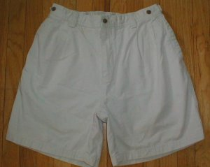 TOMMY BAHAMA Relax Cotton Shorts Mens Sz 36 with TB LOGO NEW --MAKE AN OFFER!!