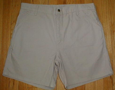 CARHARTT Cotton Canvas Shorts Mens Size 38 NEW --MAKE AN OFFER!!