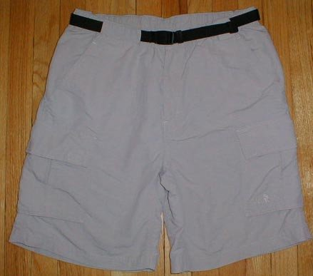THE NORTH FACE Khaki Climbing Hiking Cargo Shorts Mens Sz L Large --MAKE AN OFFER!!