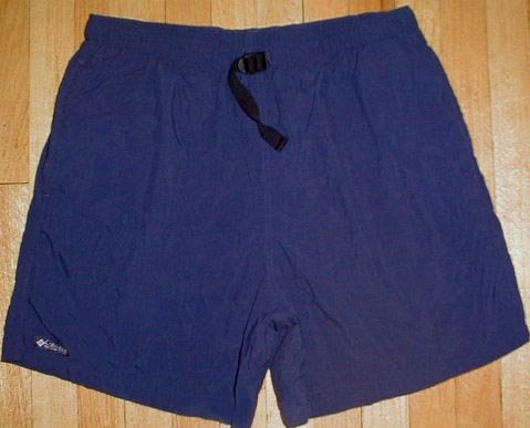 COLUMBIA SPORTSWEAR Nylon Water Swim Shorts Mens Size L Large NEW --MAKE AN OFFER!!