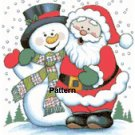CHRISTMAS #2. Cross Stitch Pattern. PDF Files.
