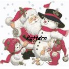 CHRISTMAS. Cross Stitch Pattern. PDF Files.