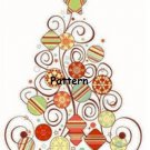 Christmas Tree. Cross Stitch Pattern. (PDF Files)