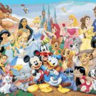 Disney Heroes. Cross Stitch Pattern. PDF Files.