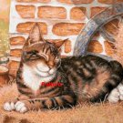 Happy cat. Cross Stitch Pattern. PDF Files.