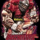 Tampa Bay Buccaneers Football Player. Cross Stitch Pattern. PDF Files.