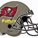 Tampa Bay Buccaneers Helmet #2. Cross Stitch Pattern. PDF Files.