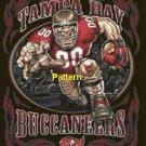 Tampa Bay Buccaneers Mascot #3. Cross Stitch Pattern. PDF Files.