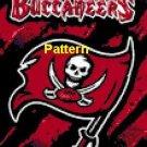 Tampa Bay Buccaneers Mascot #4. Cross Stitch Pattern. PDF Files.