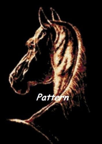Horse. Cross Stitch Pattern. PDF Files.