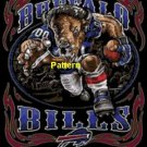 Buffalo Bills Mascot #1. Cross Stitch Pattern. PDF Files.