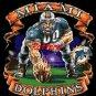 Miami Dolphins Mascot. Cross Stitch Pattern. PDF Files.
