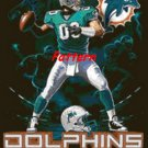 Miami Dolphins Mascot #3. Cross Stitch Pattern. PDF Files.