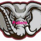 Alabama Crimson Tide #6. Cross Stitch Pattern. PDF Files.