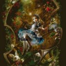 Alice In Wonderland #2. Cross Stitch Pattern. PDF Files.