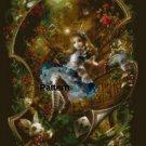 Alice In Wonderland #2. Cross Stitch Pattern. PDF Files.