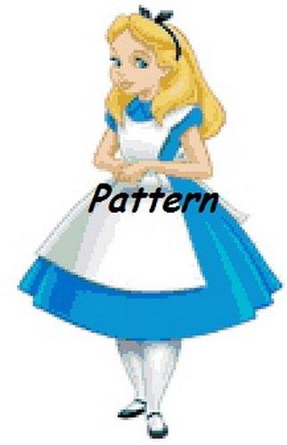 Alice In Wonderland #6. Cross Stitch Pattern. PDF Files.