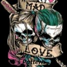 Joker and Harley Quinn. Mad Love. Cross Stitch Kit.