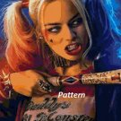 Harley Quinn. Cross Stitch Kit.