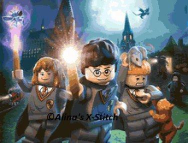 Lego. Harry Potter #1. Marvel. Cross Stitch Kit.