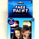 Face paint Washable Makeup Costume Kit coloring 6 jars of .75 oz. ea NEW red yel