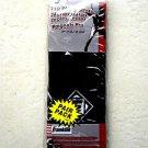 "Franklin Sports Industry Mlb 4 "" Pro Wristbands 3123 Baseball Accessories Black"