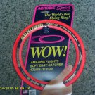 Aerobie sprint flying ring # A10 WOW ! The world best flying ring soft easy RED