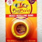 Deet Free Bugband insect Repelling Band YELLOW color Repels mosquitoes flies NEW