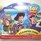 Toy Story Storybook Stamper Fun disney pixar activity book pencil crayons stampe