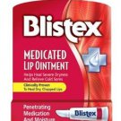 TWO Blistex medicated lip oilment .21 oz (6g ) Lip Protectant external analgesic
