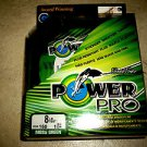 Power Pro Spectra Braid MOSS GREEN 8 lb 150 yards Line Fishing Rounder Smoother