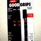 STAPLES OXO GOOD GRIPS RETRACTABLE HIGHLIGHTER  Chisel tip Twist to expose writi