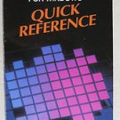 Access for Windows Quick Reference Microsoff Step by step listings for all opera