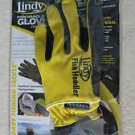 Lindy Fish Handling Fillet Glove Left Hand Protection Small Medium AC960 Yellow