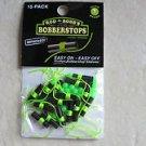 Rod-N-Bobb's CH7015 BobberStops Glow Beads 15 Pack Bobber stops rod n bobb slott