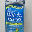 T.N. Dickinson's Witch Hazel 100% Natural Astringent 16 fl oz (473 ml) face body
