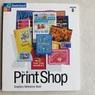 The Print Shop Graphics Reference Book BRODERBUND Version 6 1998 Paperback LikeN