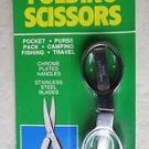 Coghlan's sportman's folding Scissors 7600 pocket purse scissor stailess steel B