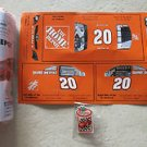Home Depot # 20 Home Depot Race Car with pin and stickers Wood Project Kids NEW