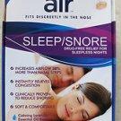 Air Sleep Snore drug free relief for sleepless nights 12 air medium increase air