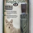 Knight & Hale Game Calls Double Threat KH941 Specially designed double reed syst