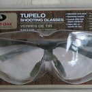 MOSSY OAK TUPELO SHOOTING GLASSES BLACK & CLEAR MO-TBC adjustable nose piece ans