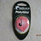 Unicorn Polyflite Set of 3 Polyester dart flights 77960 Peach hexagon darts NEW