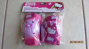 Hello Kitty protection Gear ( Knee / Elbow and Gloves ) Pads set Girl Bike Pink