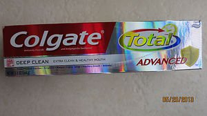 Colgate Total Advanced Deep Clean 5.8 oz ( 164 g) Extra Clean toothpaste anticav