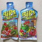 TWO Cool Tropics Rips Slush 100% juice KIWI STRAWBERRY + DRAGON PUNCH pouch 4 oz