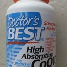 Doctor's best High Absorption CoQ10 with BioPerine 100 mg / 120 Softgels ex2016