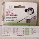 Mission Athletecare SPF 15 + lip balmer Mint  Flavor Sergio Garcia Pro Golfer NE