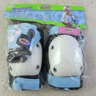 Bell Riderz Street Shred Pad Set with pink flowers gloves Knees elbows knee elbo