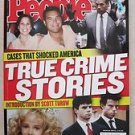 People magazine - Cases that shocked America TRUE CRIME STORIES by scott turow L